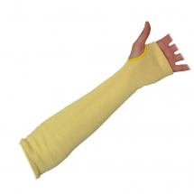 KEVLAR SLEEVE YELLOW 18inch CUT RESITSTANT CUT LEVEL 3