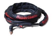 HYPERTHERM SHEATH 1-1/4 X 25FT BLACK LEATHER VELCRO W/LOGO