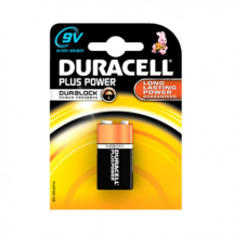 BATTERIES DURACELL 9V 1PCK