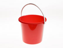 10 LTR RED BUCKET - 2 GAL
