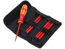 60I/7 SCREWDRIVER SET KOMPAKT VDE POUCH SL/PH 7PCE