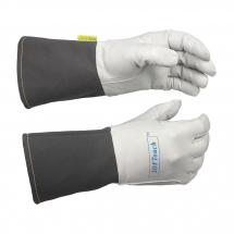 WELDAS SOFTOUCH GOATSKIN TIG GLOVE WITH FR CUFF SIZE 7.5