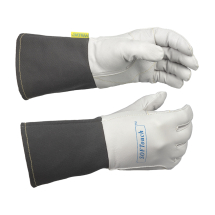 WELDAS SOFTOUCH GOATSKIN TIG GLOVE WITH FR CUFF 9.5