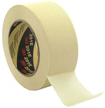 3M 201E EXTRA STICKY 80 DEGREE MASKING TAPE 50MM X 50MTR