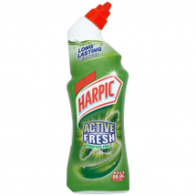 HARPIC ACTIVE GEL TOILET CLEANER PINE 750ML
