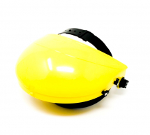 BROW GUARD FOR VISOR (YELLOW)