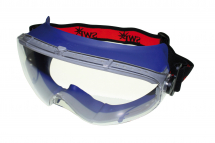 VISOR SKI WIDE CLEAR AM/AS RED SWP BAND