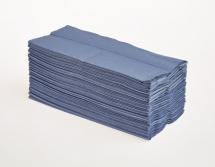 inchCinch FOLD HAND TOWELS BLUE 1PLY 2880BOX 12904