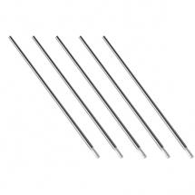TUNGSTEN ELECTRODES 2.4MM ZIRC WHITE 10PCK