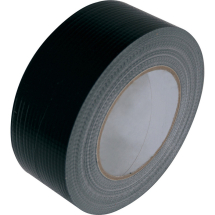TAPE CLOTH BLACK 50MM X 50 MTR