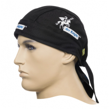 ARC KNIGHT BLACK WELDING DOO- RAG FLAME RETARDENT