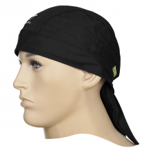 FIRE FOX BLACK WELDING DOO-RAG FLAME RETARDENT