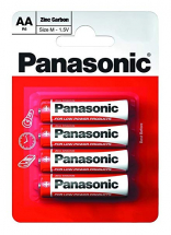 BATTERY PANASONIC AA 4PCK TK03*
