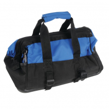 TOOL BAG HARD BASE BLUE/BLACK 13 POCKET