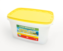 TOILET CUBE BLOCKS 3-IN-1 NON PDCB 3KG TUB LEMON FRESH
