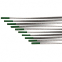 99.9% PURE TUNGSTUN 3.2MM GREEN TIP 10 PACK