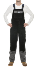 ARC KNIGHT WELDING BIB & BRACE FLAME RETARDENT /SPLIT LEATHER
