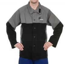 ARC KNIGHT FLAME RETARDENT WELDING JACKET + SPLIT LEATHER