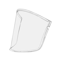 VERSAFLO COATED CLEAR VISOR PACK OF 5