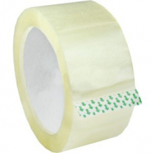 50MM X 66 MTRS CLEAR PACKING TAPE