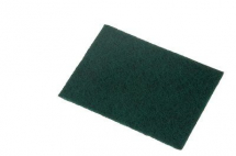 3M SCOTCHBRITE HAND PADS 7486 158MM X 224MM A CRS DARK GREEN
