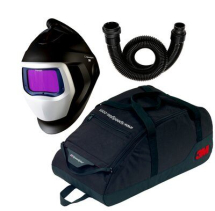 3M SPEEDGLAS 9100XX AIR HELMET + BREATHING TUBE