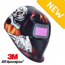3M ACES HIGH WELDING HELMET 100 SERIES + FILTER 100V