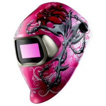 3M WILD N PINK WELDING HELMET 100 SERIES WITH FILTER 100V