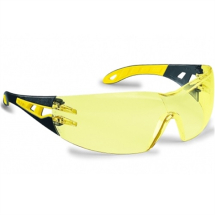 SAFETY SPECTACLES ANTI-FOG & ANTI SCRATCH UVEX YELLOW