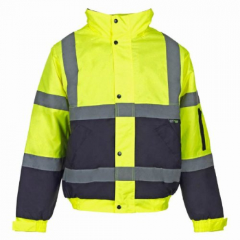 Hi Vis Two Tone Bomber Jackets