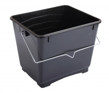 25LTR PAINT BUCKET BLACK