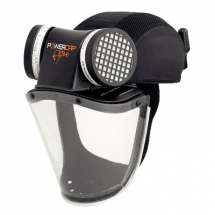 POWERCAP ACTIVE AIR FED HEAD SHIELD 8HR MULTI PLUG BLACK