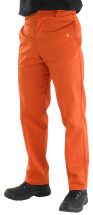 CLICK FLAME RETARDANT ORANGE TROUSERS 32inch