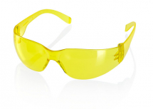 SAFETY SPECTACLES ANCONA YELLOW