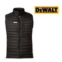DEWALT FORCE GILET BLACK LARGE