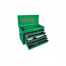 TOPTUL 9 DRAWER 186 PCE TOOL CHEST SET