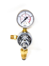 HARRIS ARGON REGULATOR 901 PRE-SET H1091