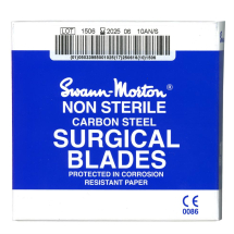 SURGICAL BLADES NO.10A 100PCK SWANN