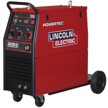 LINCOLN POWERTEC 305C 4ROLL READY TO WELD PACKAGE + METERS