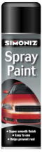 SPRAY PAINT GLOSS BLACK 500ML