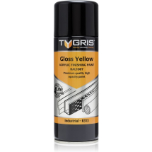TYGRIS SPRAY PAINT YELLOW 400ML TC01*