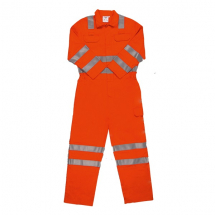 OVERALL ORANGE FIRE RETARDENT XXL