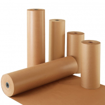900MM 70GSM MG RIBBED PURE KRAFT PAPER X 225MTRS