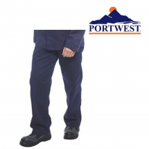 PORTWEST BIZWELD FLAME RETARDANT NAVY TROUSERS 36/38inch