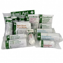 FIRST AID REFILL PACK UNBOXED 1-10 PERSONS