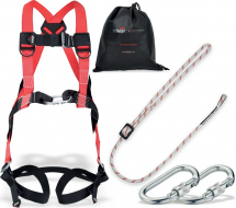ADJUSTABLE RESTRAINT KIT 5 + HT2 HARNESS & RLA LANYARD
