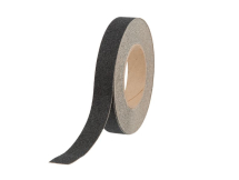 BLACK ANTI-SLIP TAPE 25MM X 18.3MTRS