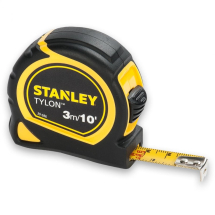 STANLEY MEASURING TAPE 3MTR BI-METAL CASING