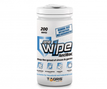 TYGRIS ANTI-BAC ONE WIPE SURFACE WIPES 200 PER TUB