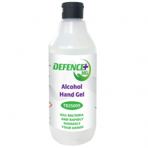 DEFENCE+ ALCOHOL HAND GEL 70% HAND SANITISER 500ML